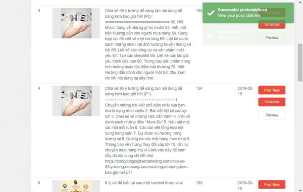 1 87 - Dùng Auto Viral Content đăng bài tự động cho Fanpage