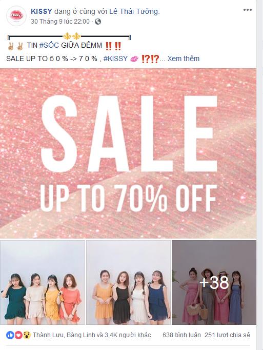pt 23 - Phân tích case study kinh doanh trên Fanpage Facebook ngành thời trang