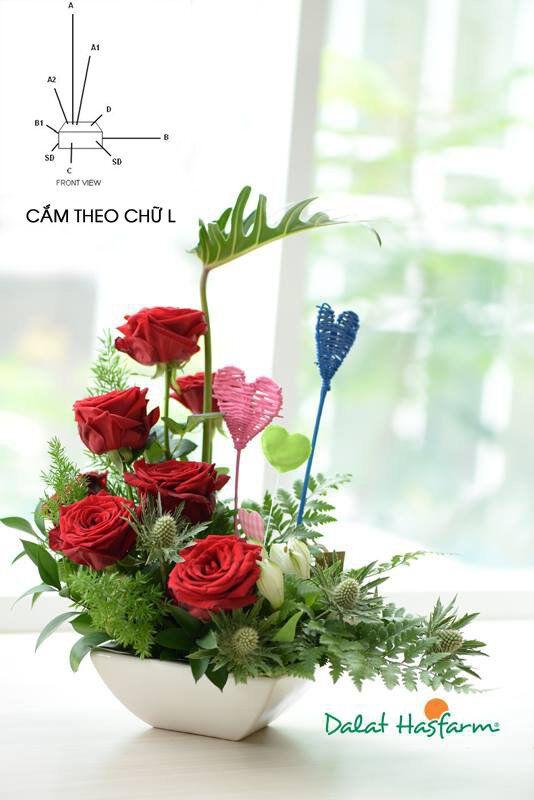 cach cam hoa hong khong kho nhung doi hoi nguoi cam dieu gi 4 - Cách cắm hoa hồng không khó nhưng đòi hỏi người cắm điều gì?