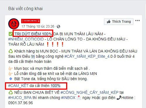 quang cao facebook khong duoc phe duyet khi su dung tu cam - Lỗi khiến quảng cáo Facebook không được phê duyệt